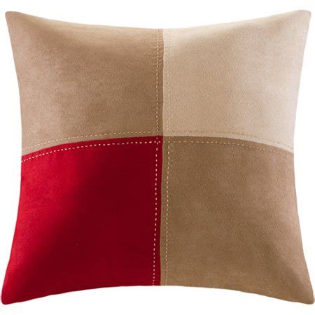 throw pillows at walmart mainstays boulder stripe collection square decorative