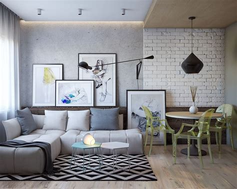 3 Modern Homes In Many Shades Of Gray by Living Room Designs のおすすめ画像 3534 件 インテリア
