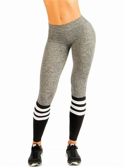 Leggings Tights Sock Workout Bombshell Thigh Pink