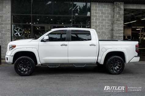 Wheels For Toyota Tundra by Toyota Tundra With 20in Black Rhino Selkirk Wheels