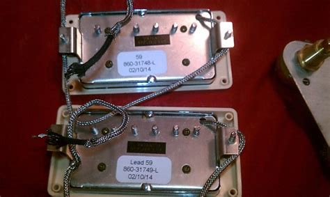 Gibson Les Paul Traditional Tribute Pickups