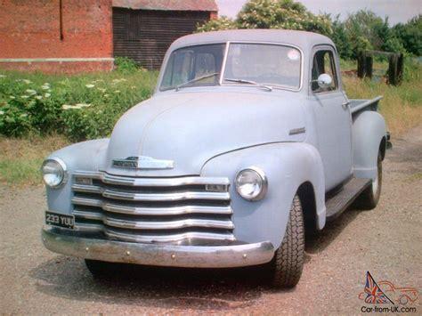 1953 Chevrolet 3600 34 Ton Pickup Truck For Sale On Ebay