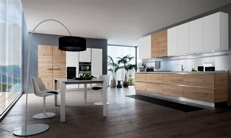 cuisine b cuisine moderne blanche et bois le bois chez vous