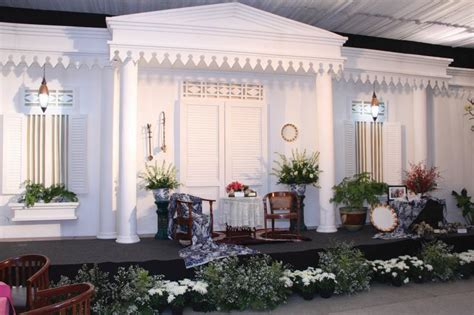 ide menarik  dekorasi pernikahan etnik betawi