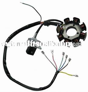 Wiring Circuit For A Magneto Ignition Coil  Wiring Circuit
