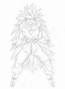 Super Saiyan 3 Goku By Tyrannax On Deviantart
