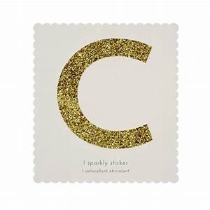 letter c gold glitter sticker gallinasmilza With glitter letter c