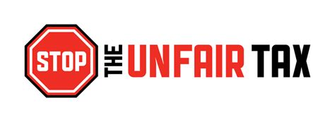 stop  unfair tax logo   governed