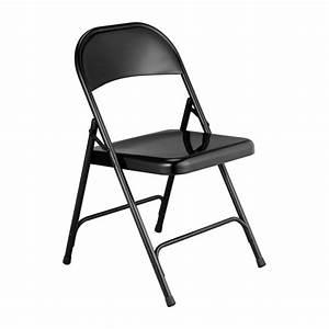 Chaise Pliante Noire : macadam chaises pliantes et d 39 appoint noir m tal habitat ~ Teatrodelosmanantiales.com Idées de Décoration