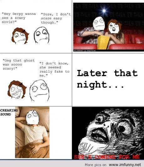Funny Horror Movie Memes - me meme horror