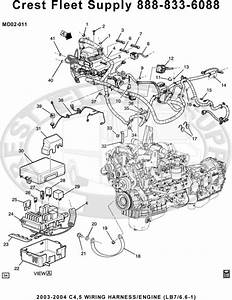 0fe1b 2004 Duramax Engine Parts Diagrams