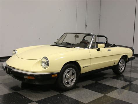 1984 Alfa Romeo Spider by 1984 Alfa Romeo Spider Veloce Convertible 2 Door For Sale