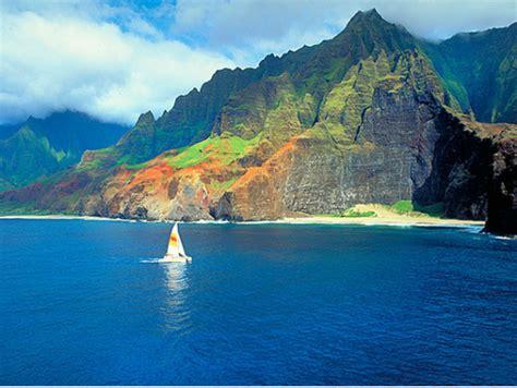 Catamaran Journey Hawaii by Na Pali Coast Sunset Dinner Sailing Cruises By Captain