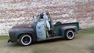 1955 Ford F100 F-100 Custom Cab Patina Pickup 1948 1949 1951 1952 1953 1954 1956