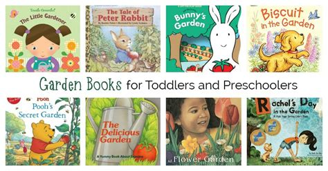 cool garden books for toddlers and preschoolers to enjoy 974 | Garden Books FB