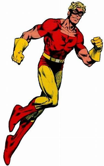 Johnny Quick Chambers Comics Jonathan Flash Star