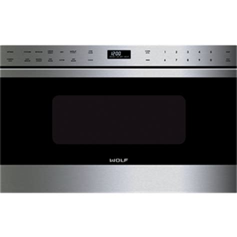wolf microwave drawer wolf md24tes 24 quot microwave drawer