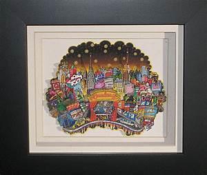 3d Pop Art : on the third day of fazzino broadway mini print fazzino ~ Sanjose-hotels-ca.com Haus und Dekorationen
