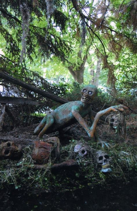 swamp creature halloween projects pinterest