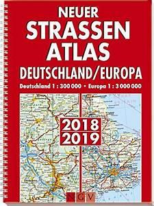 Falk Straßenatlas Deutschland : atlanten karten pl ne f r europa ~ Jslefanu.com Haus und Dekorationen