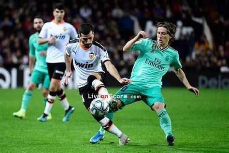 Valencia vs Real Madrid Preview and Prediction Live stream ...
