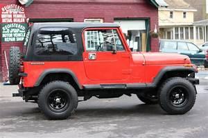 Jeep Wrangler Suv 1988 Red For Sale  2bccv81j7jb536725