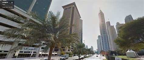 Google Street View Dubai Now Available