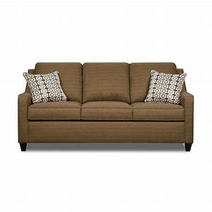 Simmons upholstery 8950 04q mover cafe queen hide a bed for Sectional sofa with hide a bed