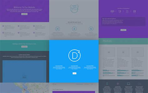 divi templates 5 best drag and drop page builders compared 2018