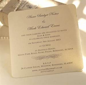 classic personalised wedding invitation by beautiful day With personalised wedding invitations online uk