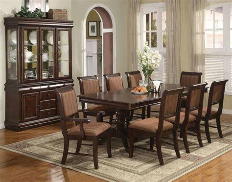 merlot  piece formal dining room furniture set table