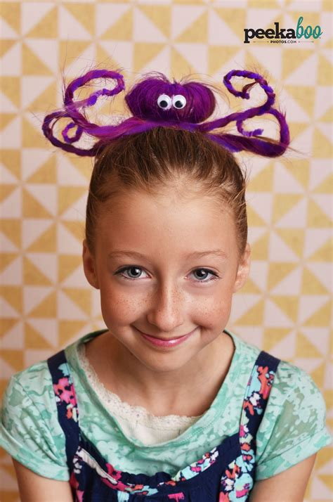 Wacky Hairstyles For by Octopus Hair Day Hair Hair Days Wacky