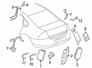 Chevrolet Impala Audio Amplifier Wiring Harness  Onstar W