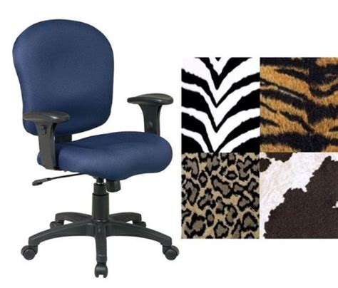 animal print desk chair office star sc66 zebra animal print adjustable office desk