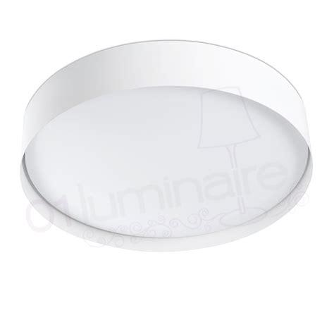 plafonnier vuk blanc led 2700k 3000lm salle de bain faro