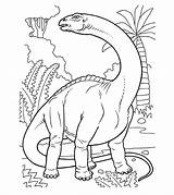 Dinosaur Colouring Huge Draw sketch template