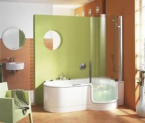Baignoire Avec Porte Pour Senior : comment am nager sa salle de bains ~ Premium-room.com Idées de Décoration
