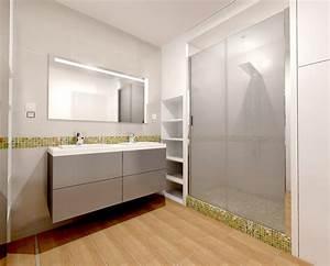 duplex avec suite parentale zen transformable salle cinema With salle de bain suite parentale
