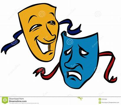 Masks Clipart Theater Drama Clipartmag