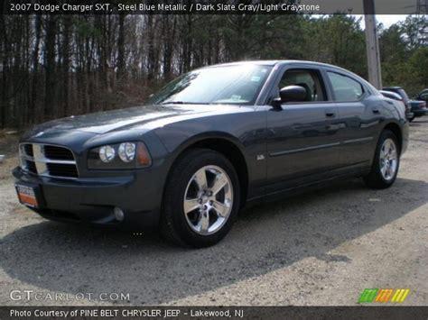 2007 Dodge Charger Sxt by Steel Blue Metallic 2007 Dodge Charger Sxt Slate