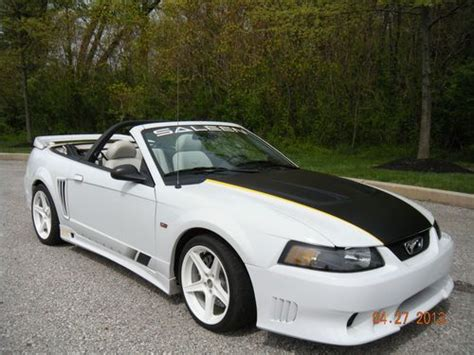 Buy Used 2003 Ford Mustang Saleen Convertible 2-door 4.6l