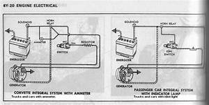 7b0021 1972 Chevy Truck Charging System Wiring Diagram