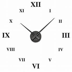 Römische Zahlen Uhr : r mische zahlen uhr wandtattoo ~ Orissabook.com Haus und Dekorationen