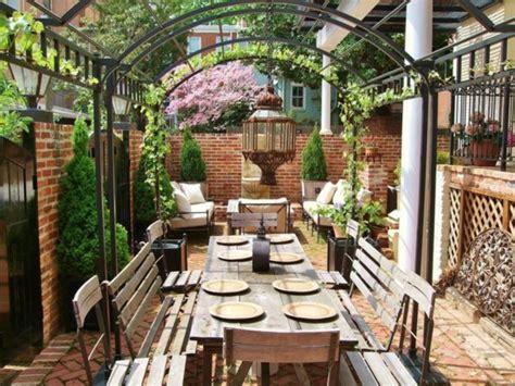 Sitzecke Im Garten Gestalten  75 Essplätze Im Freien