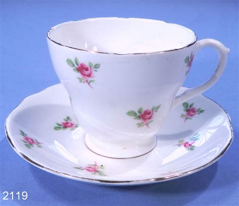 English Bone China Rosebuds Vintage Bone China Tea Cup and Saucer ? SOLD: Collectable China