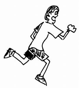 Person Running - ClipArt Best
