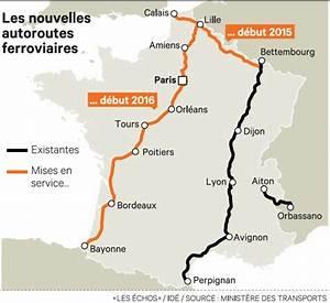Les Autoroutes En France : l 39 etat mise sur les autoroutes ferroviaires pour enrayer la baisse du fret ~ Medecine-chirurgie-esthetiques.com Avis de Voitures