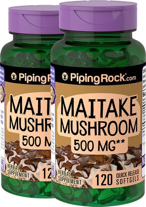 Maitake Mushroom Extract Supplement | Benefits & Reviews ...