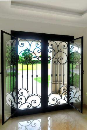 disenos de puertas de herreria mas modernas  mas hermosas