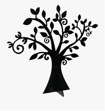 Whimsical Tree Branch Clipart Leaves Trunk